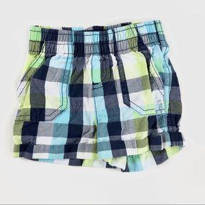 Checkered baby shorts
